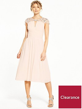 little-mistress-petite-cap-sleeve-embellished-midi-dress-nude