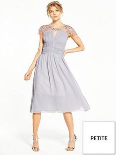 little-mistress-petite-cap-sleeve-embellished-midi-dress-grey