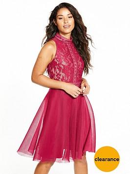 little-mistress-baroque-thick-mesh-dress