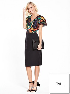 paper-dolls-paper-dolls-tall-dark-tropical-printed-2-in-1-dress