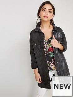 girls-on-film-ripped-oversized-denim-jacket-black