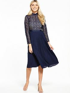 little-mistress-crochet-top-midi-dress
