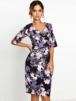 paper-dolls-blossom-printed-gather-detail-dress