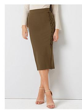 girls-on-film-lace-up-detail-pencil-skirt