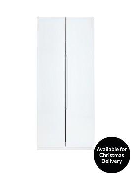 monaco-high-gloss-ready-assembled-2-door-wardrobe