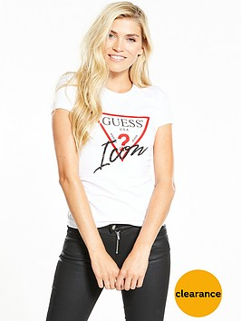 guess-short-sleeve-icon-tee