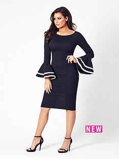 jessica-wright-yulia-long-sleeve-midi-dress-black