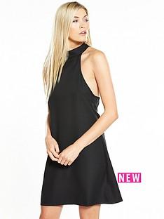 fashion-union-lavelle-mini-lace-back-dress-black