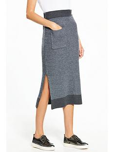 native-youth-knitted-rib-tube-skirt-with-pocket
