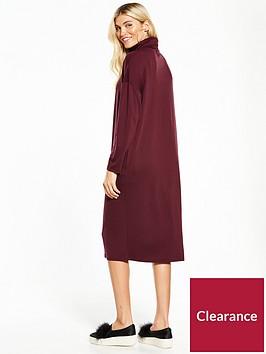 native-youth-roll-neck-midi-dress