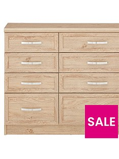 Camberley Graduated 4 + 4 Drawer Chest