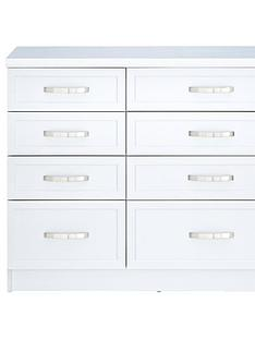 White Bedroom Chest Of Drawers Home Garden Www Very Co Uk