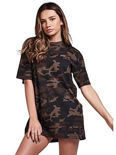 sik-silk-boyfriend-t-shirt-dress-camo