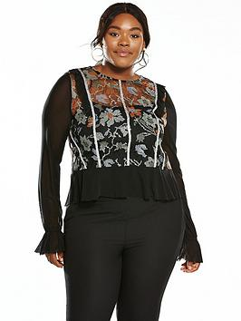 elvi-abstract-floral-lace-top