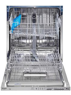 Candy CDI 6061-80 13 Place Full Size Integrated Dishwasher Best Price, Cheapest Prices