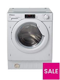 Candy CBWD8514D 8kg Wash, 5kg Dry, 1400 Spin Fully Integrated Washer Dryer - White