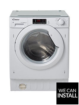 candy-cbwd8514dnbsp8kgnbspwashnbsp5kgnbspdry-1400-spin-fully-integrated-washer-dryer-with-optional-installation-white