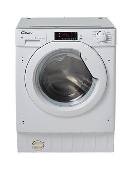 Candy Cbwd8514D 8Kg Wash, 5Kg Dry, 1400 Spin Fully Integrated Washer Dryer - Washer Dryer With Installation
