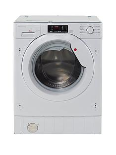 Hoover HBWM814D 8kg Load, 1400 Spin Fully Integrated Washing Machine - White Best Price, Cheapest Prices