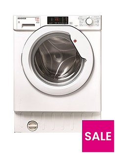 Hoover HBWD7514DA 7kg Wash 5kg Dry 1400 Spin Fully Integrated Washer Dryer - White
