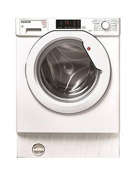 Hoover Hbwd7514Da 7Kg Wash 5Kg Dry 1400 Spin Fully Integrated Washer Dryer - White - Washer Dryer Only