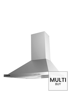 hoover-first-classic-hech6163x-60cm-chimney-cooker-hood-stainless-steel