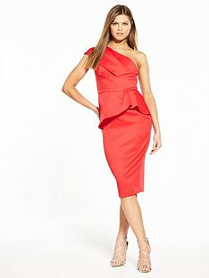 v-by-very-premium-satin-one-shoulder-dress