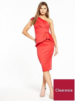 v-by-very-premium-satin-one-shoulder-dress