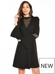 v-by-very-star-lace-bodice-fit-and-flare-dress