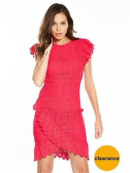 v-by-very-lace-cross-over-frill-dress-rednbsp