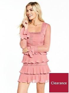 v-by-very-lace-ruffle-mini-dress