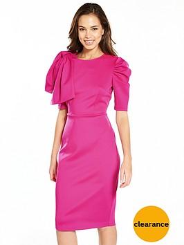 v-by-very-bow-shoulder-scuba-pencil-dress