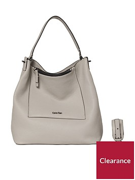 calvin-klein-contemporary-hobo-leather-bag-cement