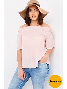 girls-on-film-curve-bardot-short-sleeved-top-dusty-pink