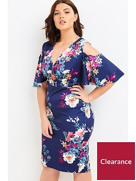 girls-on-film-curve-printed-cold-shoulder-bodycon-dress-navy-floral