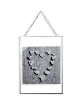 arthouse-pebble-heart-framed-print