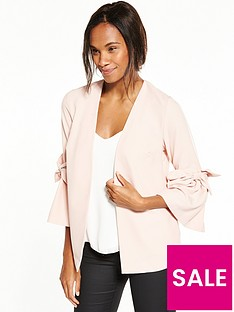 v-by-very-statement-bow-sleeve-jacket-blush