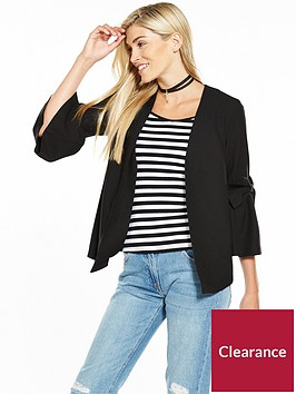 v-by-very-statement-bow-sleeve-jacket-black