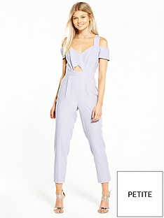 miss-selfridge-petite-cold-shoulder-jumpsuit