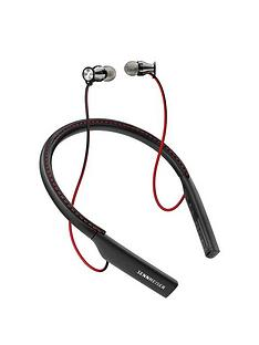 sennheiser-momentum-in-ear-bluetooth-headphones-with-secure-neckband-bluetooth-41-nfc-capability-and-up-to-10-hours-battery-life-blackred