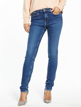 Calvin Klein Jeans High Rise Skinny Jean - Blueville
