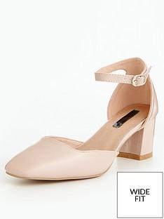 lost-ink-wide-fit-block-heel-ankle-strap-shoenbsp