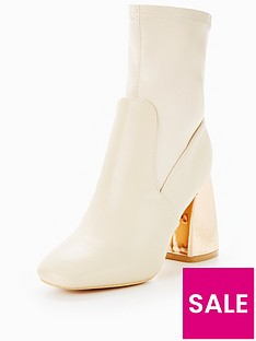 lost-ink-bubble-heel-sock-ankle-boot-cream