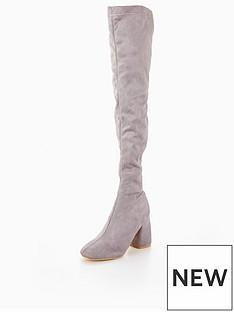 lost-ink-tobinbspbubble-heel-over-the-knee-boot