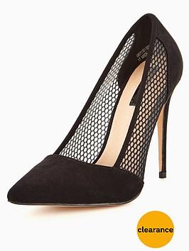 lost-ink-andie-fishnet-mesh-court-shoe-black
