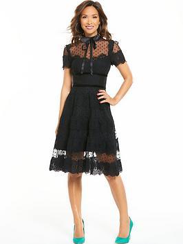 Myleene Klass Lace Prom Dress