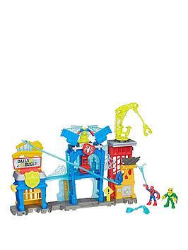 marvel-playskool-heroes-marvel-super-hero-adventures-spider-man-web-quarters