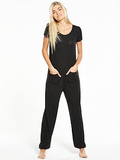 v-by-very-hareemnbsppocket-jumpsuit-black-sparkle