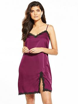 v-by-very-satin-lace-trim-chemise