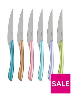 amefa-metallic-eclat-6-piece-steak-knife-set